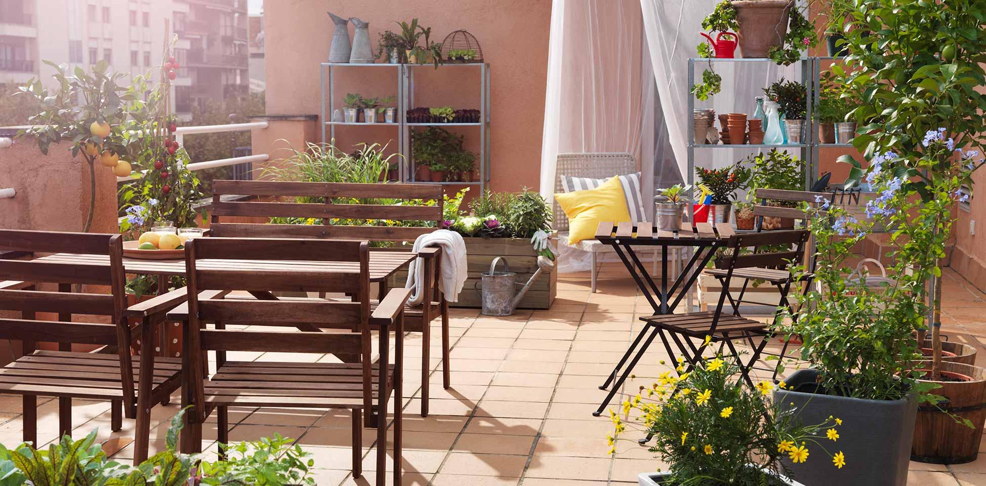 Prepara tu terraza para el buen tiempo abc serrano for Decoracion navidena para exteriores