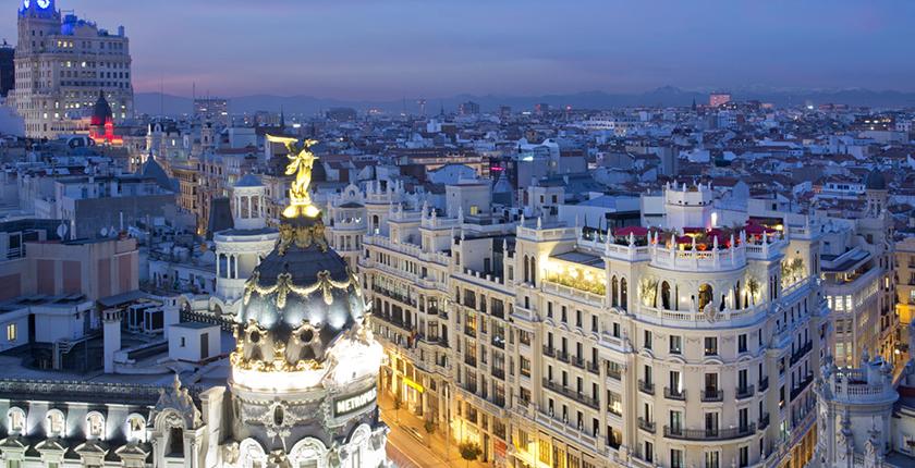 Rooftop de Madrid con vistas
