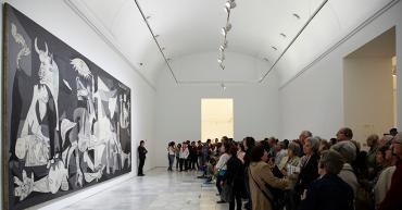 Obra de Picasso, expuesta en el Museo Reina Sofía