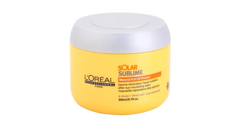 Protege tu pelo del sol producto lóreal